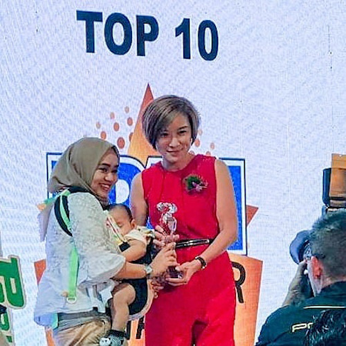 AWARDED TOP 10 IBUENCER 2018