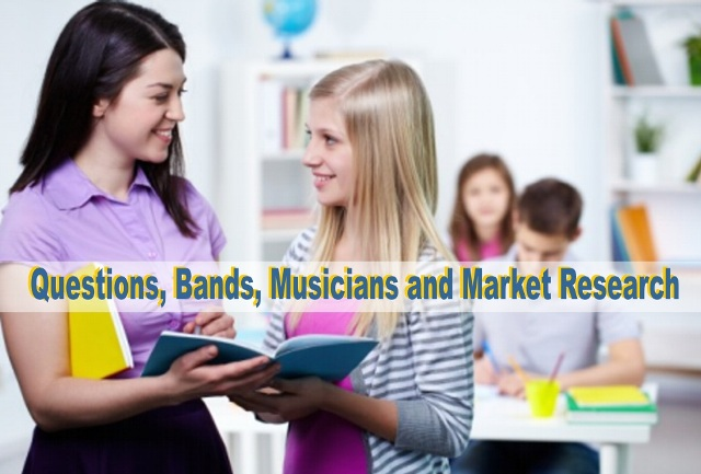 market research Bands
