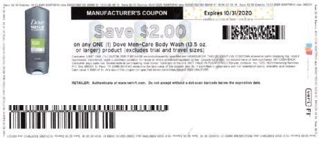 dove mens body wash coupon