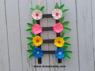 Ide Kreatif Hiasan Dinding Bunga-Bunga dari Kertas Origami