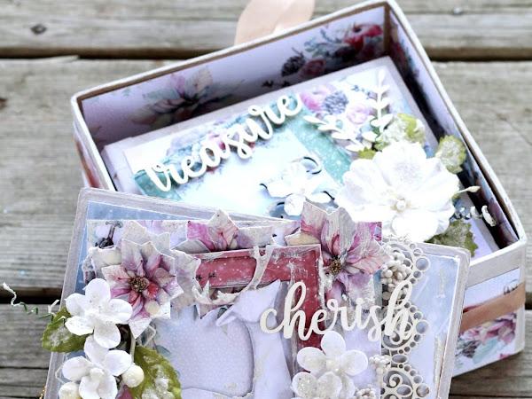 Cherish - Christmas Mini Album- Creative Scrapbooker