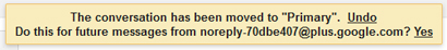Gmail msg move alert