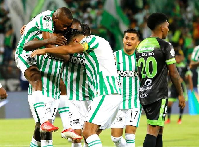 ¡No hay quien lo pare! Atlético Nacional derrotó a La Equidad y dio un paso gigante hacia la clasificación a los cuadrangulares.