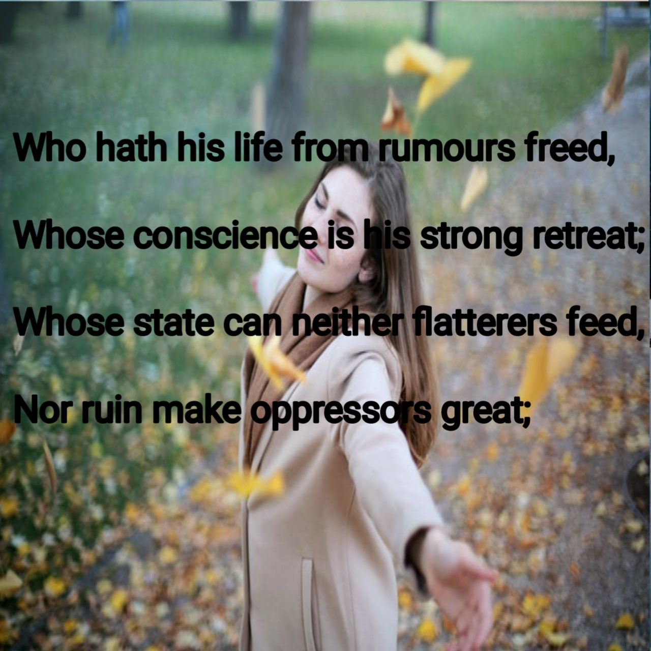 Poem rhymes
