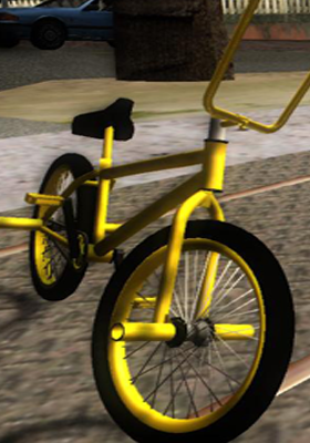 Free Download New BMX Yellow Mod for GTA San Andreas.