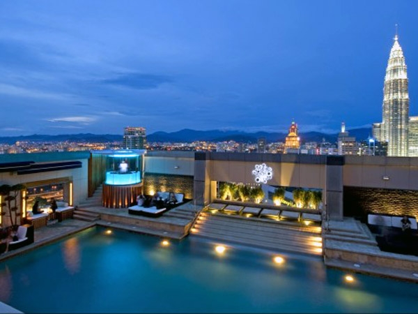 Luxury Life Design Most Beautiful Rooftop Pools In The World