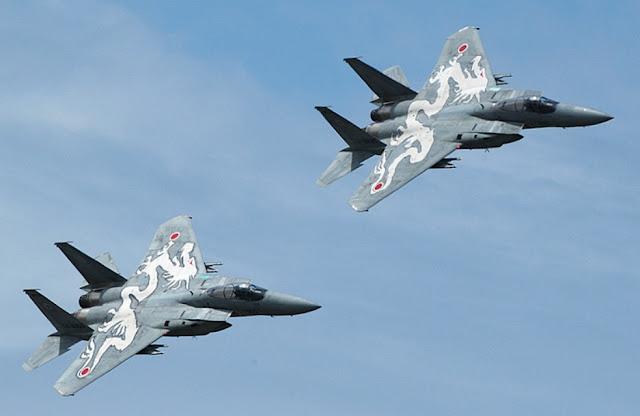 Resultado de imagen de Japón y Reino Unido realizarán maniobras militares aéreas