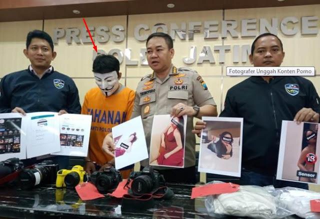 Fotografer 'Nakal' Unggah Konten Porno di Medsos Ber-ujung Bui