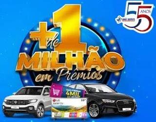 Cadastrar Promoção Jaú Serve + de 1 Milhão - 55 Anos Aniversário 2019