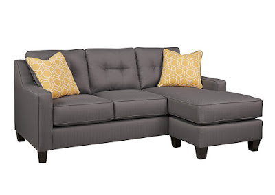 performance fabric sofa chaise