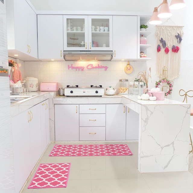 Dekorasi Dapur Cantik Sederhana Terbaru