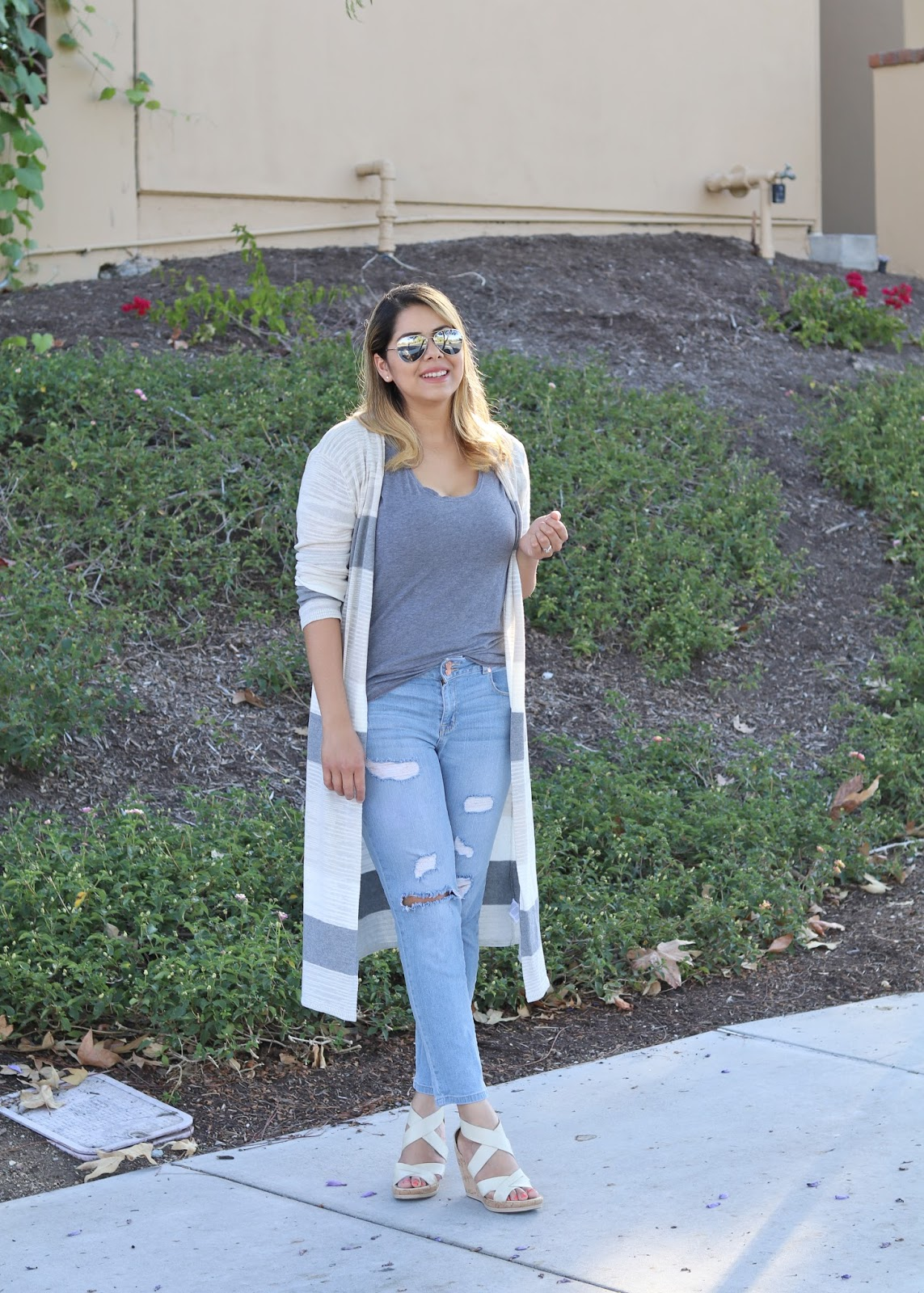 casual long cardigan, socal fashion blogger, casual outfit idea, Summer casual 2016 outfit