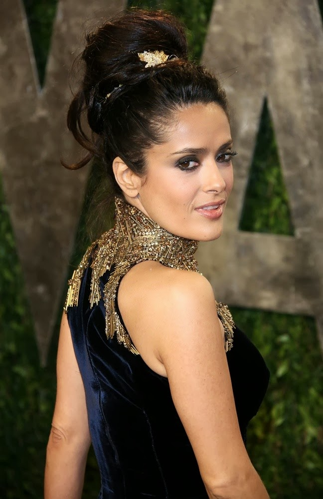 10 most beautiful salma hayek hairstyles pictures 201314