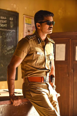 Theri Vijay Police Look Wallpapers