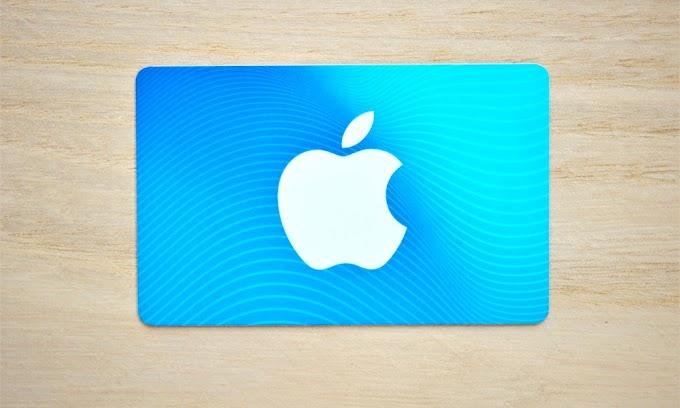 Sorteio de um Gift Card de $200 da Apple Store