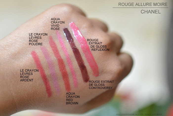 93e9e4a4 Weekend Ramblings: Chanel Rouge Allure Moire Makeup Collection ...