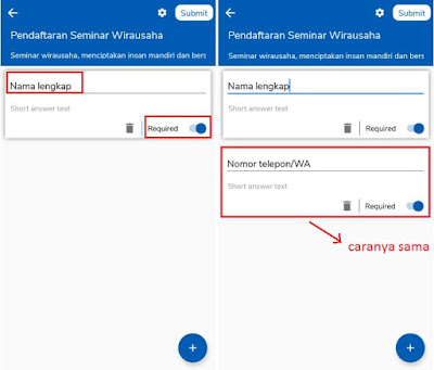 Cara Membuat Google Forms di HP Android