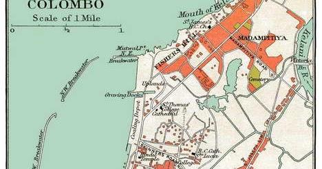 mapcortex blog old map of colombo sri lanka from 1895. Black Bedroom Furniture Sets. Home Design Ideas