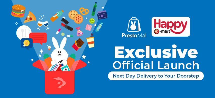 PrestoMall x Happy E-Mart