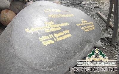 Nisan Batu Kali Murah, Pembuat Nisan Batu Alam, Ukuran Nisan Batu Alam