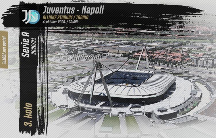 Serie A 2020/21 / 3. kolo / Juventus - Napoli, nedelja, 20:45h