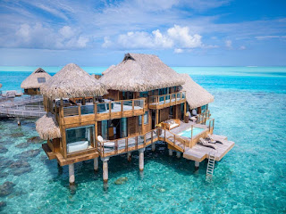 Honeymoon Destinations with Overwater Bungalows bora bora nui