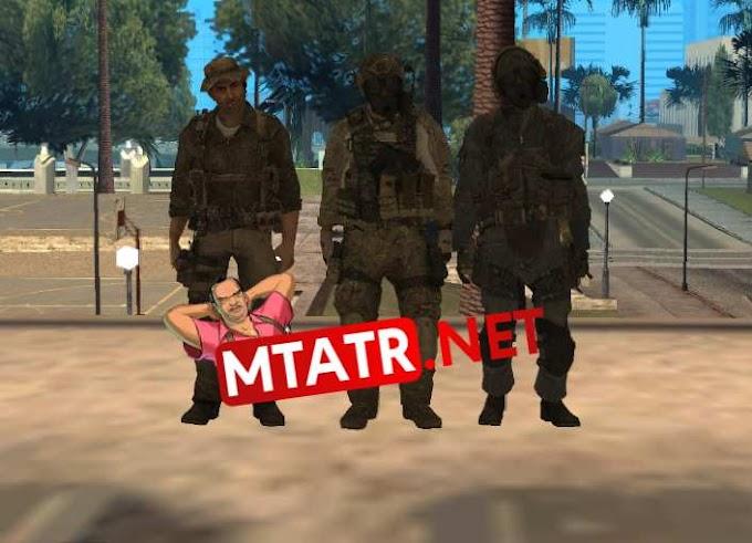 MTA SA Modern Warfare 3 Skins