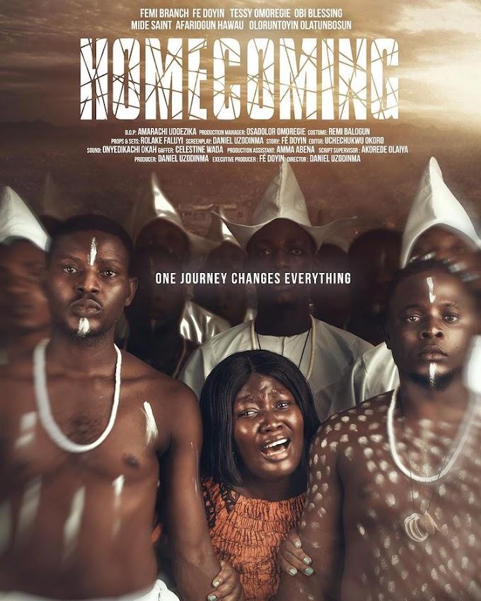 "Watch ""HOMECOMING"" a new short Nigerian Movie about Oro, an Anti-Women Yoruba Festival drops"