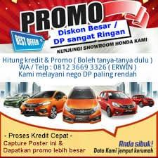 Promo Mobil Honda Termurah & DP Ringan