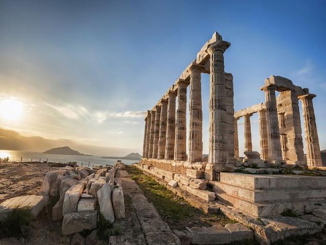 Passeio até o Cabo Sounion, Atenas