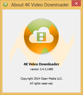 4K Video Downloader 3.4