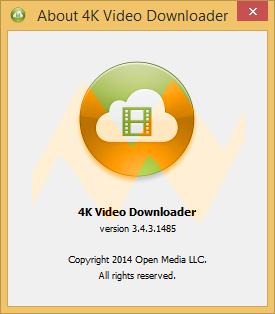4K Video Downloader 3.4