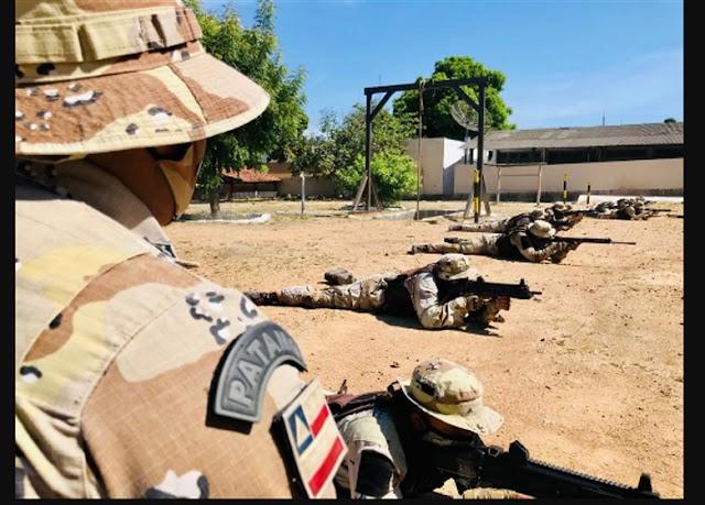 Cipes realizam curso de combate em áreas rurais