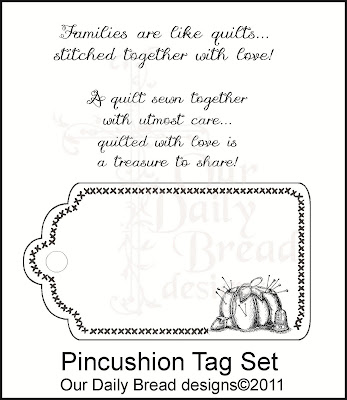 Image result for Pincushion Tag Set stamp