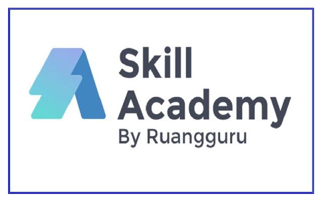 cara daftar skill academy ruang guru