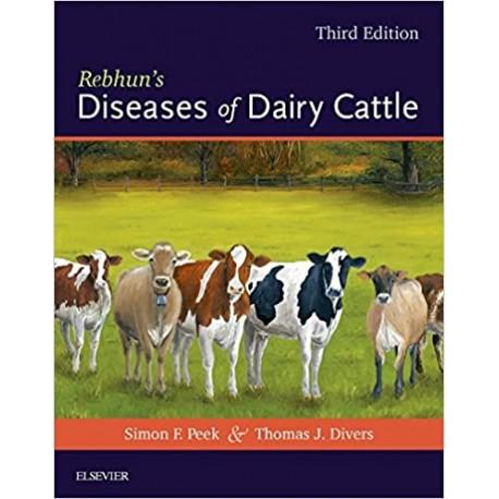 Rebhun's Diseases of Dairy Cattle 3rd Ed - WWW.VETBOOKSTORE.COM