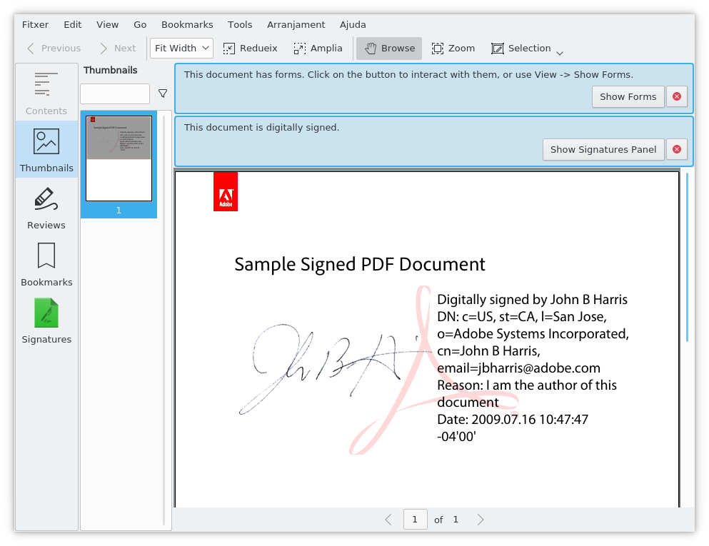 Sample Signed Pdf