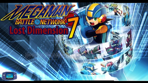 Megaman Battle Network 7 Lost Dimension