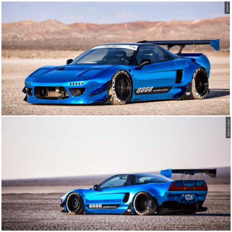 MUSCLE CAR COLLECTION : Liberty Walk Or Rocket Bunny Which
