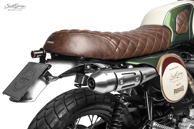 Moto Guzzi V7 By South Garage Motorcycles Hell Kustom