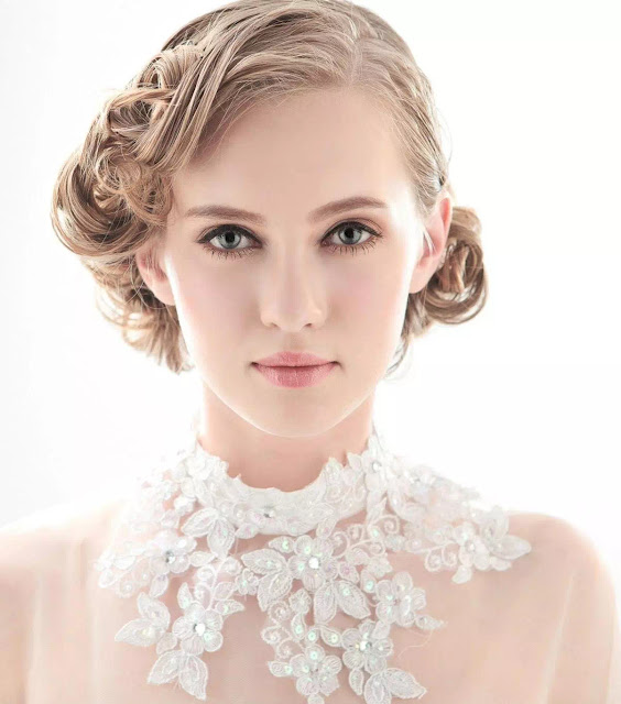 retro hairstyles for brides
