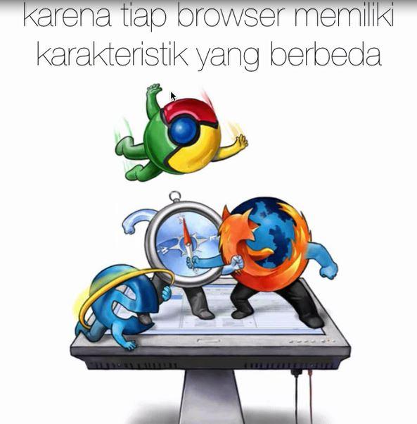 Karakter Browser PAda css3 - blog lupacode