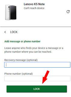 chori hue android phone ko lock kaise kare