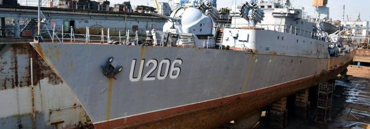 ВМСУ закривають доступ до контрактів з ремонту військових кораблів для невеликих компаній?