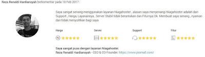 web hosting dengan server stabil