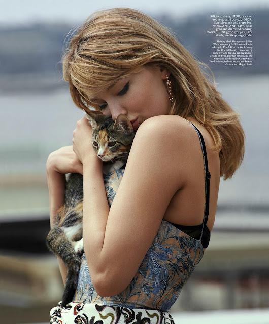 Haley Bennett - Elle Magazine