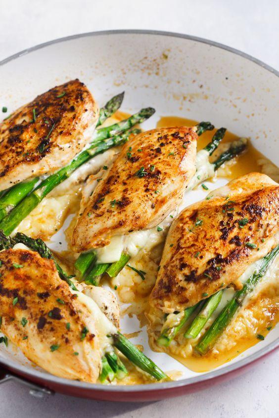Asparagus Stuffed Chicken Breast #recipes #dinnerrecipes #dinnerideas #newdinnerrecipes #newdinnerideas #newdinnerrecipeideas #food #foodporn #healthy #yummy #instafood #foodie #delicious #dinner #breakfast #dessert #lunch #vegan #cake #eatclean #homemade #diet #healthyfood #cleaneating #foodstagram
