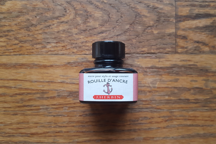 review: j. herbin rouille d'ancre
