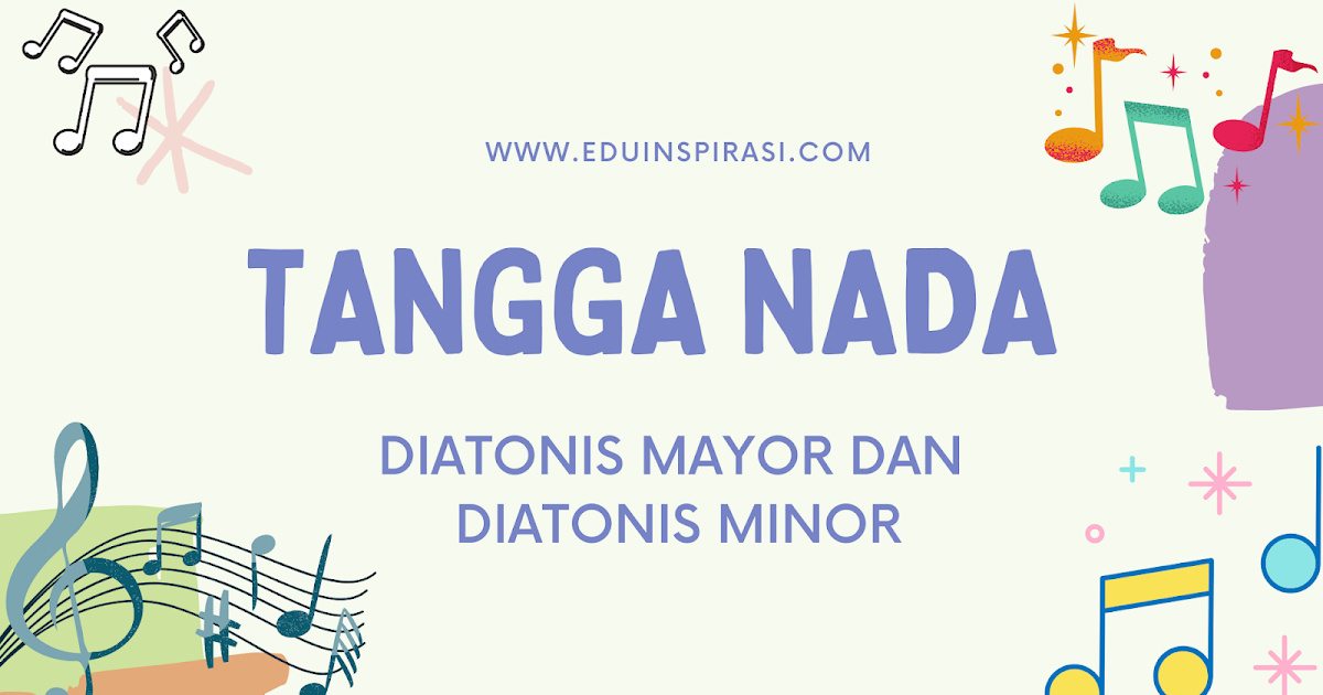 Tangga Nada Diatonis Mayor Dan Minor