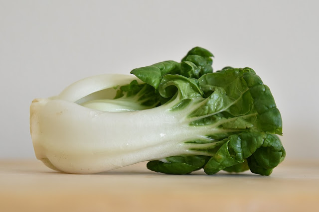 Comfort Food for a Paleo Vegetarian - Spicy Bok Choy